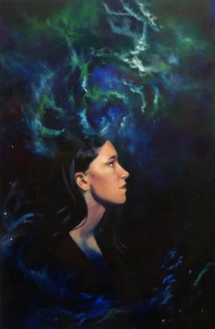 Soul. Oil on panel, 2011.